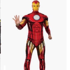 Iron man adult deluxe costume size standard